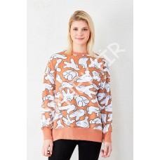 Mickey El Baskılı Sweatshirt